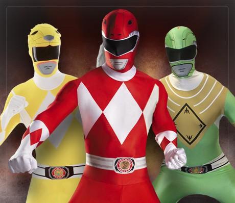 Déguisements Power Rangers