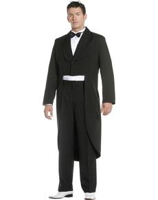 Costume avec queue de pie