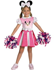 Costume de Minnie Mouse Clubhouse pom-pom girl pour fille