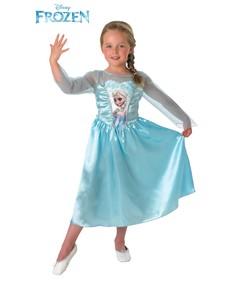 Costume de Elsa La reine des Neiges pour fille