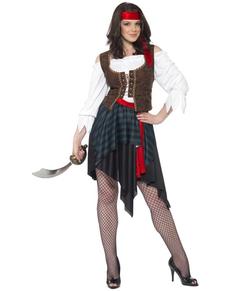 Déguisement de femme pirate classique