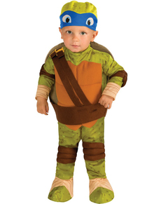 Costume de Leonardo Tortue ninja pour bébé