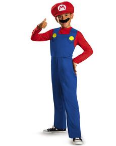 Costume de Mario Bros classique pour garçon