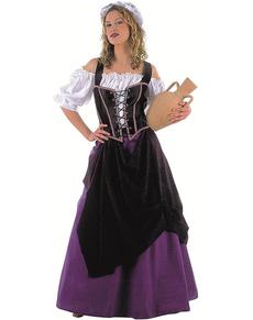 Costume d'aubergiste médiévale