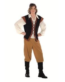 Costume de paysan médiéval