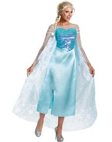 Costume de Elsa la reine des neiges luxe pour femme