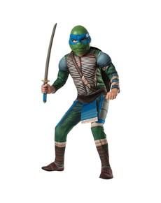 Costume Leonardo Tortues Ninja Movie musclé pour enfant