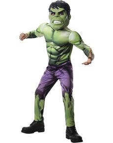 Costume Hulk Avengers Rassemblement pour enfant