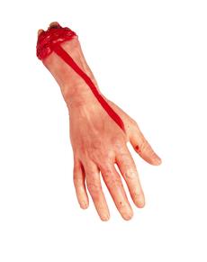 Main amputée taille réelle