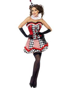 Costume Arlequin Fever pour femme