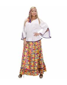 Déguisement hippie communauté femme