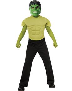 Kit Costume Hulk musclé garçon