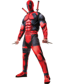 Costume Deadpool deluxe Marvel pour homme