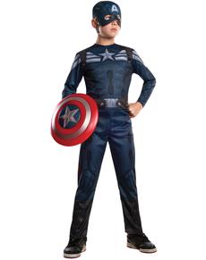 Costume Captain America : le soldat de l'hiver enfant