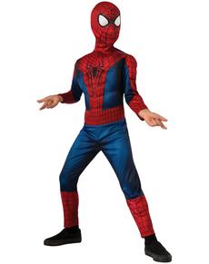 Costume The Amazing Spiderman 2 deluxe movie enfant