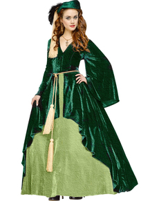 Déguisement princesse Scarlett classique femme