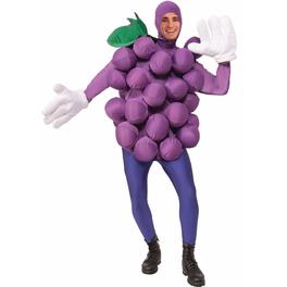 Déguisement raisins noirs adulte