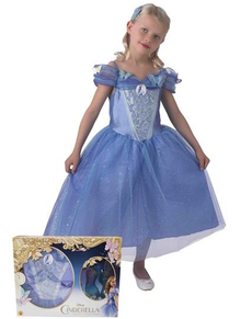 Costume Cendrillon movie fille avec chaussures