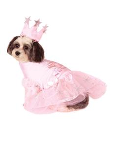 Costume Glinda Le Magicien d'Oz chien