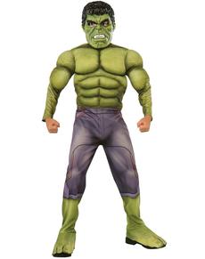 Costume Hulk Avengers 2 L'ère d'Ultron deluxe enfant