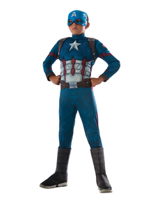 Costume Captain America Civil War deluxe enfant
