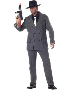 Déguisement Gangster homme