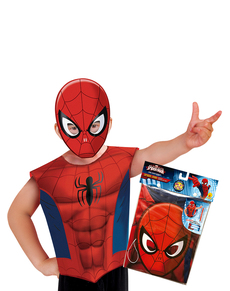 Kit costume Spiderman économique enfant