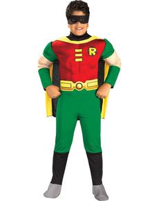 Costume de Robin musclé garçon